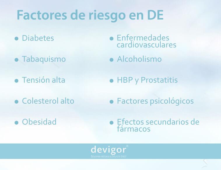 efectos del azúcar sobre la disfunción eréctil